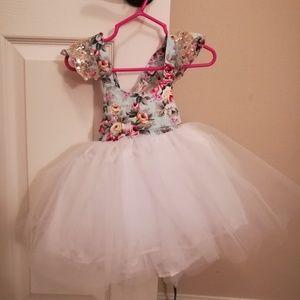 Halter Style Tutu Dress